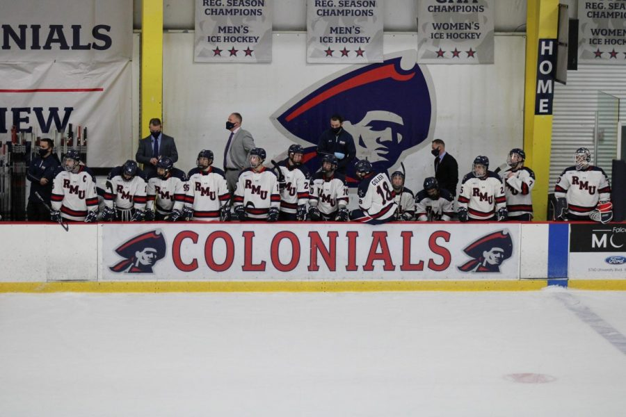 Men's hockey will embark on their first road trip of the 2020-21 campaign. Photo Credit: Nathan Breisinger