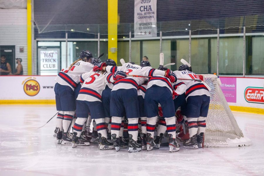 Women's hockey will begin their season with four straight games against Lindenwood starting on Thursday. Photo Credit: Thomas Ognibene