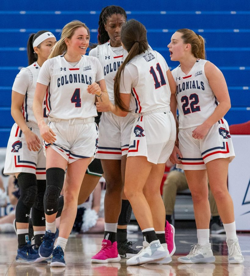 The Colonials are set to open their 2020-21 campaign on Saturday with a non-conference game against the Norfolk State Spartans. Photo Credit: Thomas Ognibene