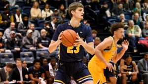 Brandon Stone announced that he has transferred to RMU from LaSalle on Tuesday evening. Photo Credit: La Salle University Athletics