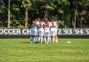 Men's soccer announced their spring schedule. Photo Credit: David Auth
