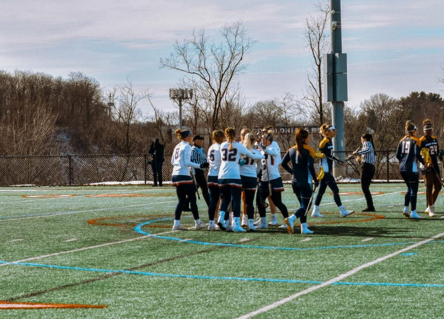 Women's lacrosse announced their schedule for the upcoming season. Photo Credit: Carly Sylvester
