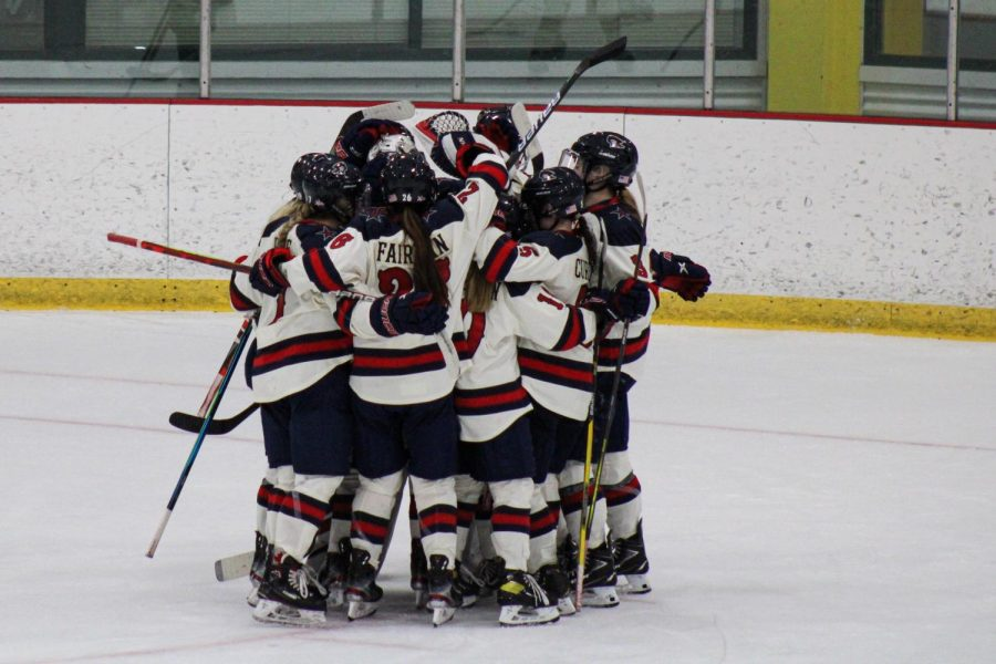 Women's hockey will be taking on Penn State this weekend. Photo Credit: Nathan Breisinger