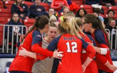 Volleyball was ranked ninth in the Horizon League's preseason poll. Photo Credit: Colonial Sports Network