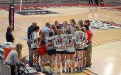 RMU volleyball will be back in action next week. Photo Credit: Colonial Sports Network