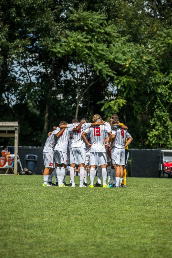 Men's soccer begins their campaign against Oakland. Photo Credit: David Auth
