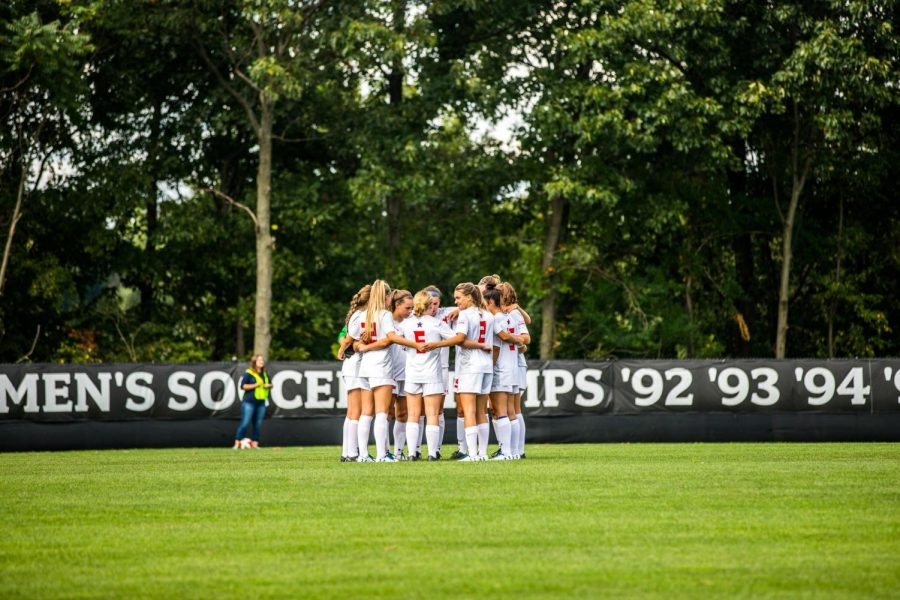 Women's soccer hosts Milwaukee in Canonsburg this week. Photo Credit: David Auth