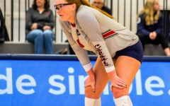 Star volleyball middle-blocker Emma Granger will return for another season of eligibility. Photo Credit: David Auth