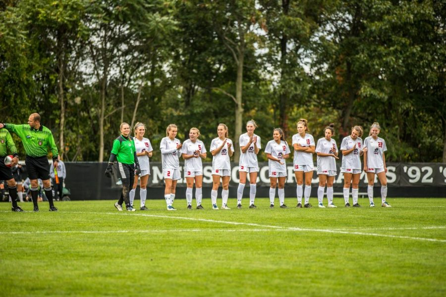 Women's soccer placed 11th in the Horizon League preseason poll. Photo Credit: David Auth