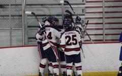 Men's hockey was named regular-season champions of the Atlantic Hockey western pod. Photo Credit: Nathan Breisinger