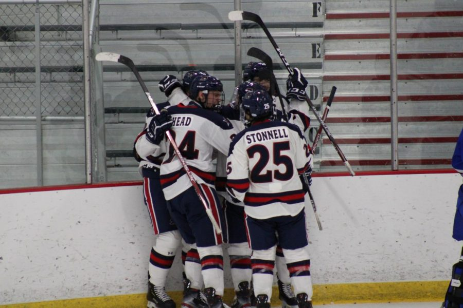 Men%27s+hockey+was+named+regular-season+champions+of+the+Atlantic+Hockey+western+pod.+Photo+Credit%3A+Nathan+Breisinger