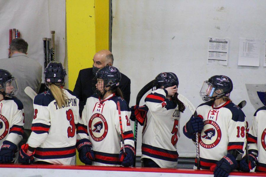 Women%27s+hockey+topped+Mercyhurst+on+Tuesday.+Photo+Credit%3A+Nathan+Breisinger