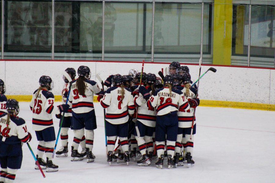 Women's hockey takes on RIT Wednesday. Photo Credit: Nathan Breisinger