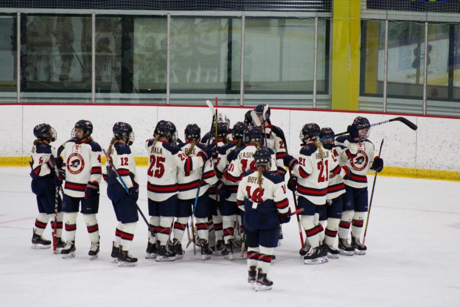 Women%27s+hockey+hosts+Sacred+Heart+this+weekend.+Photo+Credit%3A+Nathan+Breisinger