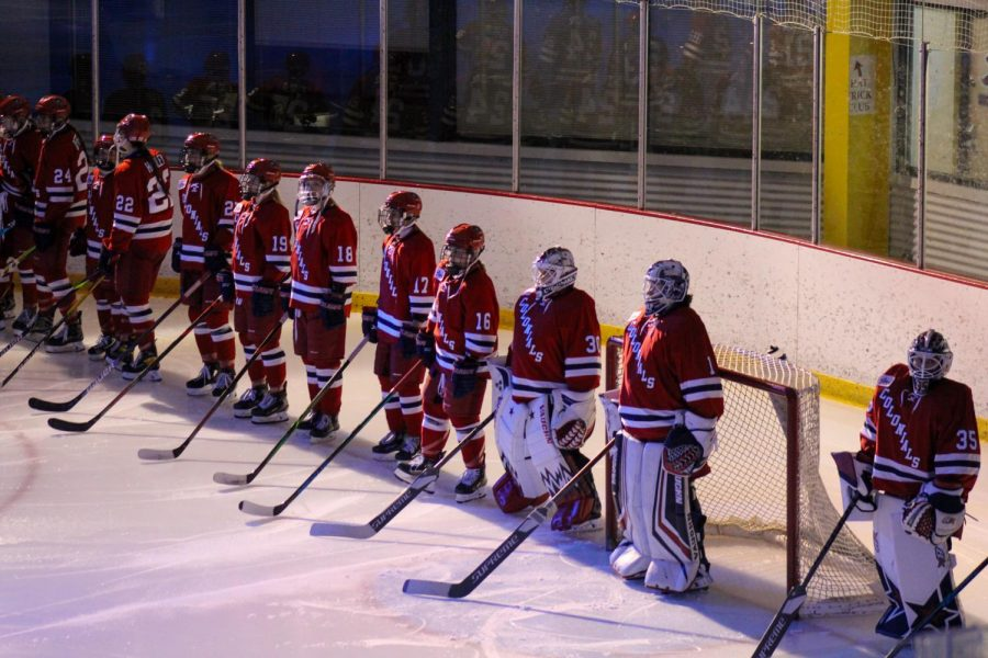 Women%27s+hockey+heads+to+Mercyhurst+for+a+Tuesday+night+battle.+Photo+Credit%3A+Nathan+Breisinger