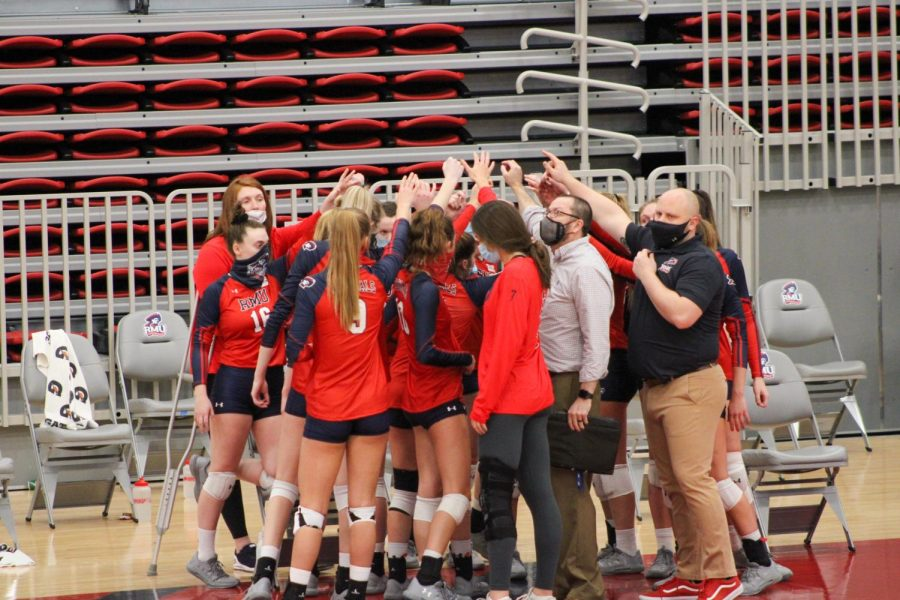 Volleyball heads to UIC this week. Photo Credit: Tyler Gallo