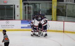 Men's hockey returns home to host Mercyhurst on Thursday. Photo Credit: Nathan Breisinger
