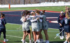 Women's lacrosse hosts Fresno State hoping to continue their momentum from the Liberty victory. Photo Credit: Tyler Gallo