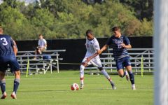 Men's soccer heads to Green Bay searching for their first win. Photo Credit: David Auth