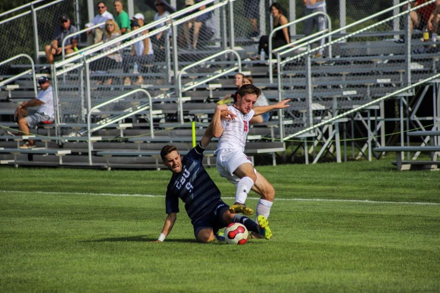 Men's soccer takes on West Virginia on Tuesday. Photo Credit: David Auth