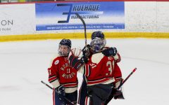 Men's hockey heads to RIT this weekend. Photo Credit: Garret Roberts