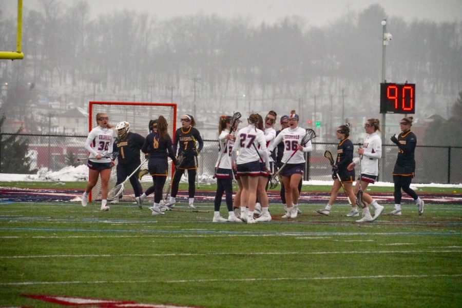 Women's lacrosse hosts Liberty on Saturday. Photo Credit: Tim Kelley
