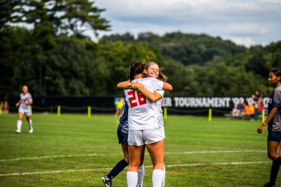 Women's soccer takes on Cleveland State. Photo Credit: David Auth