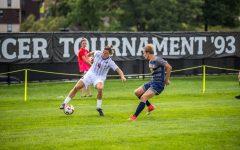 Men's soccer hosts Purdue Fort Wayne. Photo Credit: David Auth