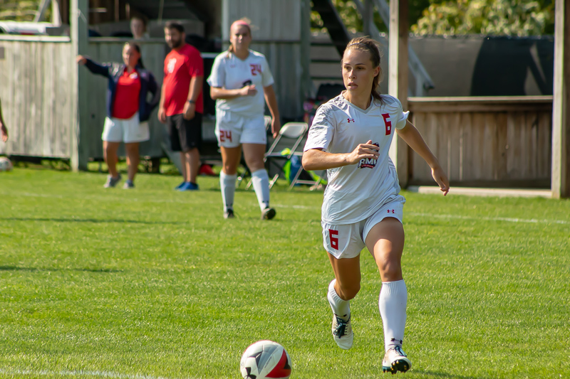 Women's soccer travels to Rochester in hopes of continuing their offensive surge. Photo Credit: David Auth