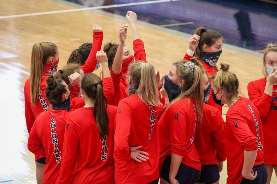 Volleyball looks to start a win streak when they host winless IUPUI. Photo Credit: Tyler Gallo