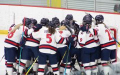 Women's hockey heads to Erie in search of a CHA Title. Photo Credit: Tyler Gallo