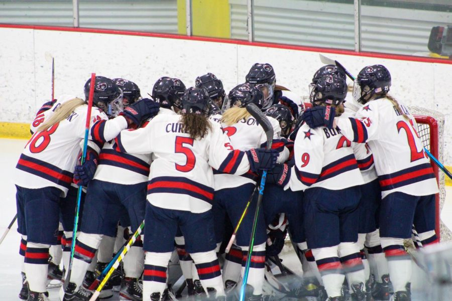 Women%27s+hockey+heads+to+Erie+in+search+of+a+CHA+Title.+Photo+Credit%3A+Tyler+Gallo