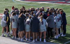 Women's lacrosse will play their first MAC contest against Kent State on Wednesday. Photo Credit: Tyler Gallo