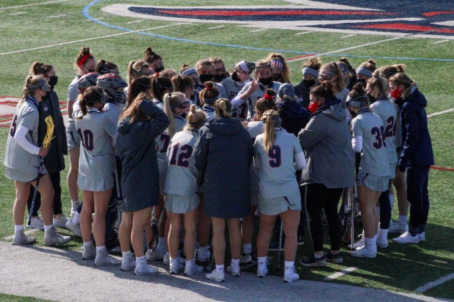 Women%27s+lacrosse+will+play+their+first+MAC+contest+against+Kent+State+on+Wednesday.+Photo+Credit%3A+Tyler+Gallo