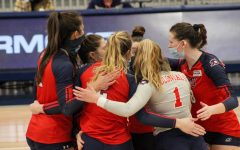 Volleyball looks to snap their losing skid at Cleveland State. Photo Credit: Tyler Gallo