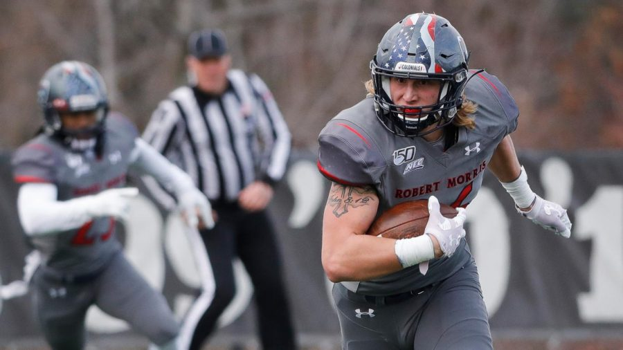 Aniello Buzzacco was named to the All-Big South First Team. Photo Credit: RMU Athletics