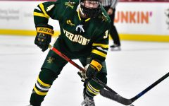 Mickey Burns has transferred into the men's hockey program from Vermont. Photo Credit: Vermont Athletics