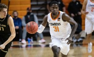 Ferron Flavors has committed to Robert Morris. Photo Credit: Oklahoma State Athletics