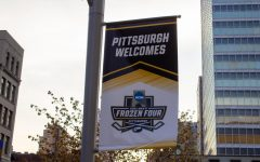 The Frozen Four came to Pittsburgh and was hosted by Robert Morris for the first time since 2013. Photo Credit: Allison Breisinger