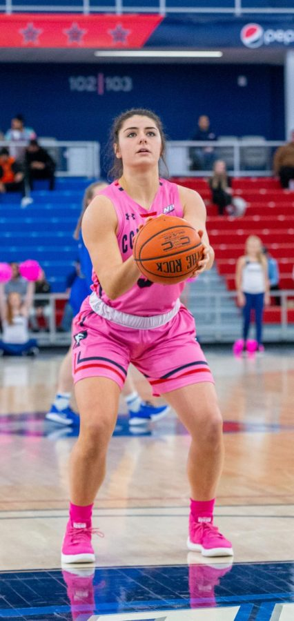 Holly Forbes has graduate transferred to Tennessee Martin. Photo Credit: Thomas Ognibene