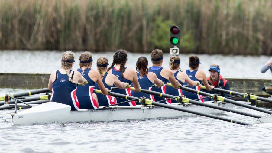 Rowing returns home Saturday. Photo Credit: RMU Athletics