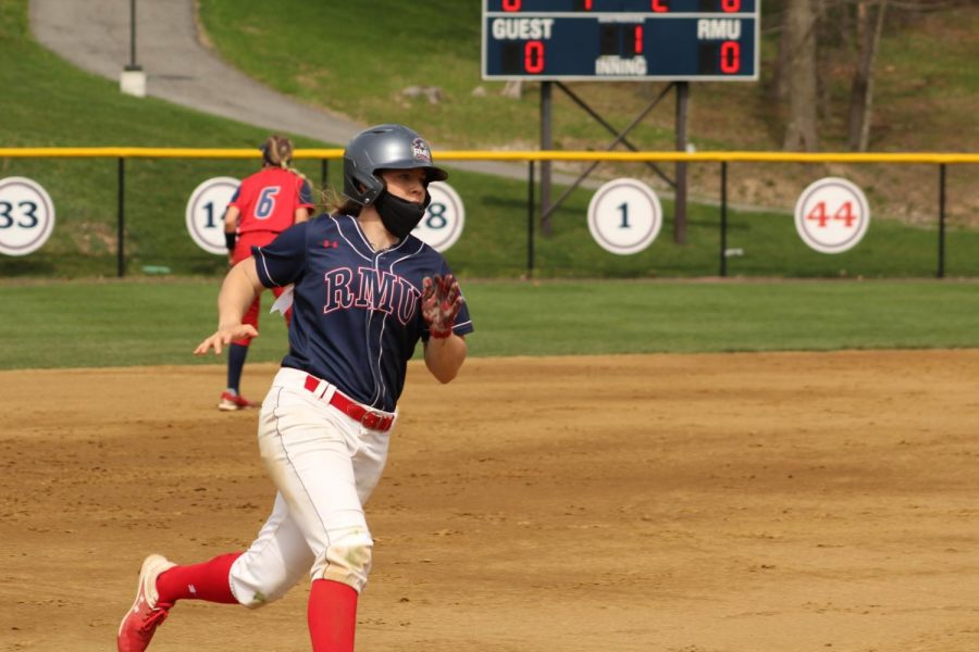 Natalie Higgins earned NFCA Division 1 All-Region Honors. Photo Credit: Ally Yovetich