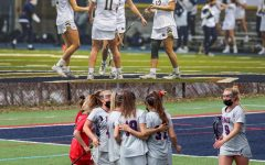 Robert Morris women's lacrosse will look to unseat no. 5 Notre Dame in the NCAA Tournament. Photo(s) Credit: Notre Dame Athletics, Tyler Gallo