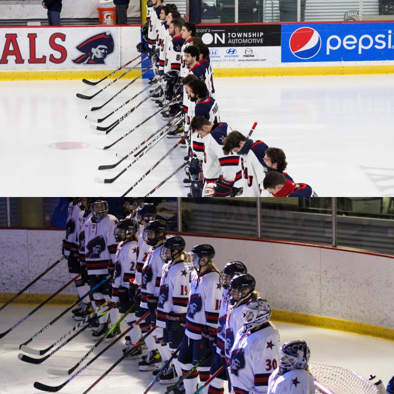 RMU has discontinued its men's and women's hockey programs.