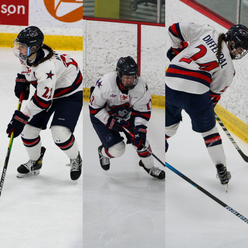 Emilie+Harley+%28left%29%2C+leah+Marino+%28center%29+and+Anjelica+Diffendal+%28right%29+were+all+drafted+into+the+NWHL+last+night.+Former+Colonial+Morgan+Schauer+was+as+well.+Photo%28s%29+Credit%3A+Nathan+Breisinger