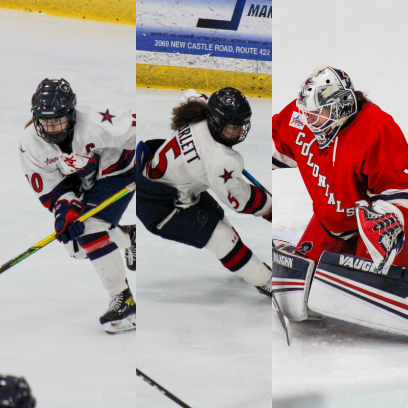 Three former women's hockey players have landed at Ohio State. Photo(s) Credit: Nathan Breisinger.