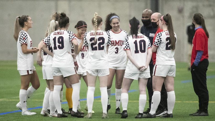 Women's soccer released its schedule. Photo Credit: RMU Athletics