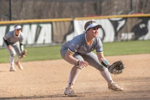 Softball added the older sister of Rachael Rhinehart, Taylor, to the roster this morning as a graduate transfer from Siena. Photo Credit: Robert Simmons/Siena Athletics