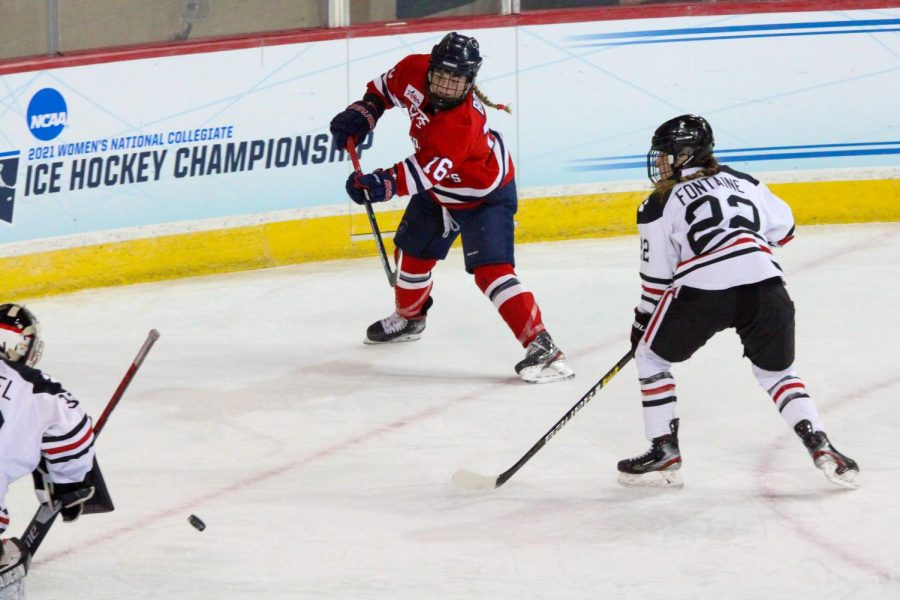 Michaela Boyle has transferred to Boston College. Photo Credit: Nathan Breisinger/Colonial Sports Network