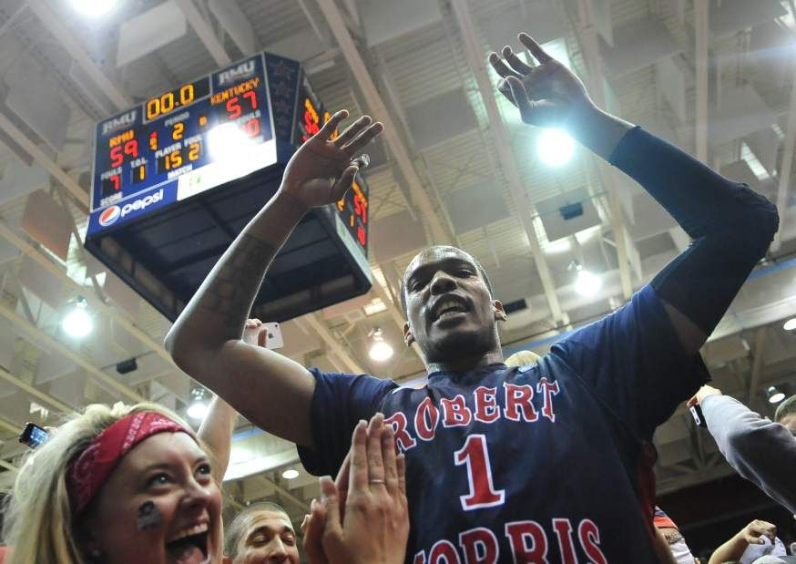 Ethan Morrison breaks down the 2012-13 mens basketball team and why it could be the best roster in RMU history. Photo Credit: RMU Athletics